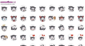 Twitter background image wallpaper kitty icons